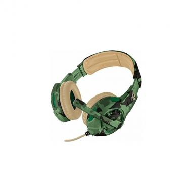Cuffie Trust GXT310C RADIUS JUNGLE CAMO GAMING 22207 Multipiattaforma