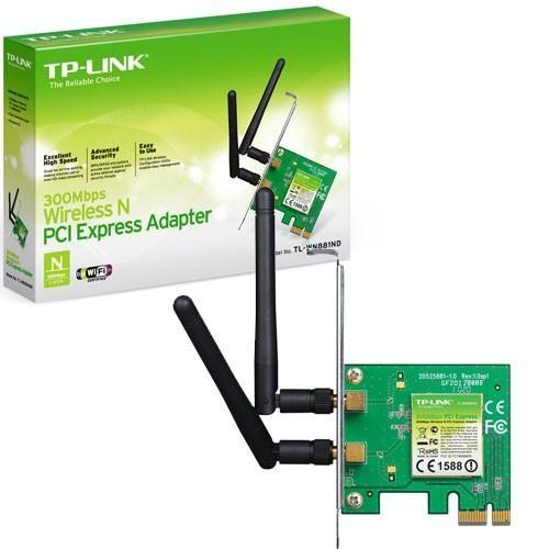 Tp-Link Scheda Wireless Pci-Express TP-Link TL-WN881ND 300Mbps 1488  6935364050573